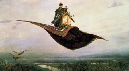 RidingaFlyingCarpetPainting_ViktorVasnetsov1880